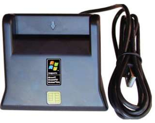 DOD USB CAC COMMON ACCESS SMART CARD DESKTOP ID READER 856771002039