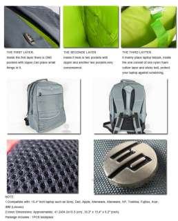 Travel Bag Backpack for HP Dell Sony IBM Laptop Notebook Carrying Cary