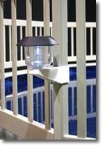 Solar Swimming Pool Fence Light with Bracket