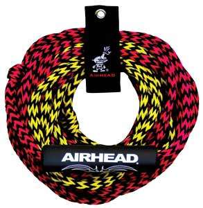 KWIK TEK AIRHEAD 2 RIDER 2 SECTION TUBE TOW ROPE NEW