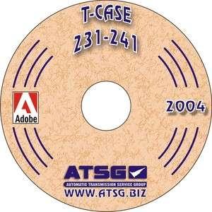 ATSG Transfer Case Rebuild Manual NP231 NP241 231 241