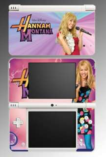 Hannah Montana Miley Cyrus Game Skin 15 Nintendo DSi XL
