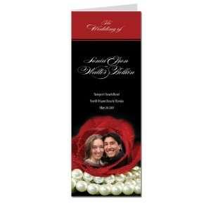 60 Wedding Programs   Material Girl