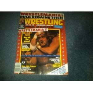 WWF WWE Wrestling All Stars Heros & Villains Magazine July